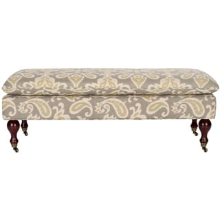 Safavieh Hampton Pillowtop Grey/ Sage Bench