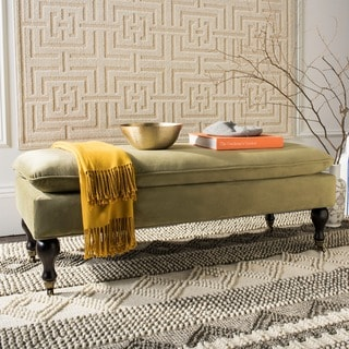 Safavieh Hampton Pillowtop Spruce Bench