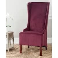"Safavieh Deco Becall Bordeaux Side Chair - 24"" x 28.3"" x 47"""