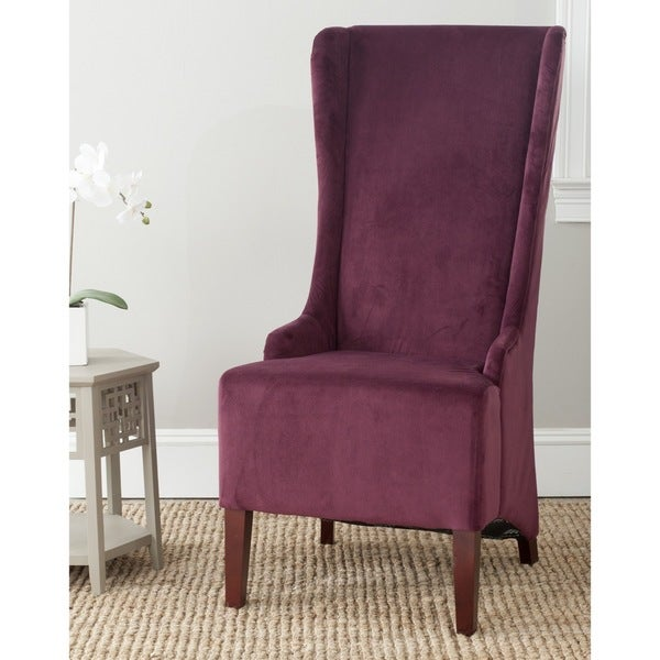 "Safavieh Deco Becall Bordeaux Side Chair - 24"" x 28.3"" x 47"""