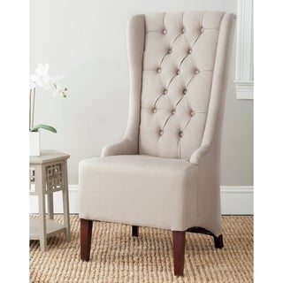 Safavieh En Vogue Dining Deco Bacall Taupe Dining Chair