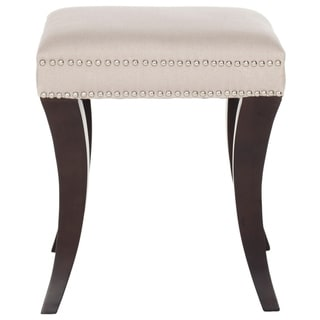 Link to Safavieh Diva Taupe Ottoman Similar Items in Living Room Furniture