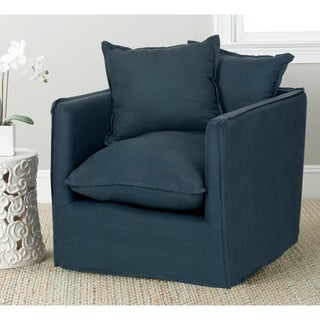 Safavieh Joey Blue Pillow Club Chair