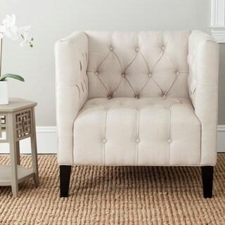 Safavieh Glen Beige Club Chair