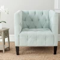 Safavieh En Vogue Glen Light Blue Club Chair