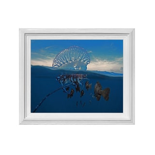 Chris Doherty 'Jellyfish' Framed Wall Art