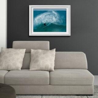 Nicola Lugo 'Surf' Framed Print Art