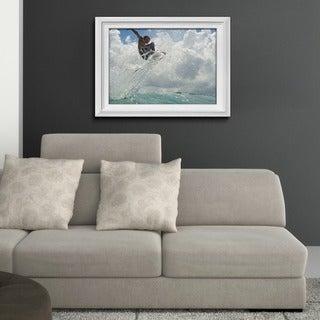 Nicola Lugo 'Surf' Framed Surf Art