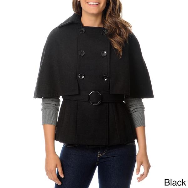 Krush Juniors Wool Double Breasted Cape Coat