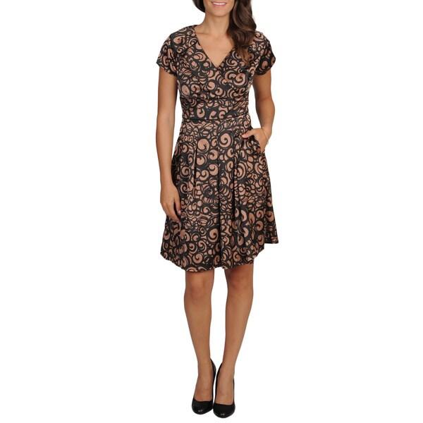 Cece's New York Women's Satin Party Dress