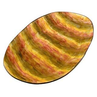Tortoise Shell Oval Serving Platter (Italy)
