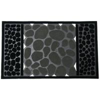 Rubber-Cal 'River Rocks' Rubber Doormat (18 x 30)