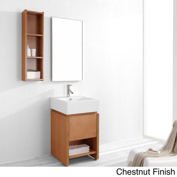 Virtu usa curtice 20 inch single sink bathroom vanity - 20 inch bathroom vanity and sink ...