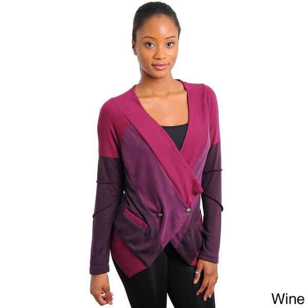 Stanzino Women's Colorblocked Cardigan