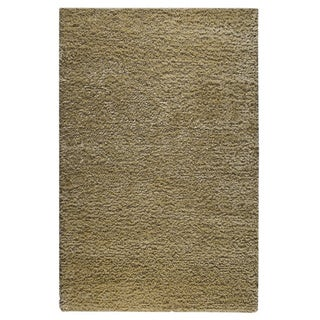 M.A.Trading Hand-woven Malibu Cream Wool/ Polyester Rug (5' x 8')