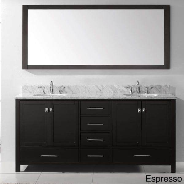 bathroom vanities 72 inch double sink virtu usa caroline avenue 72 inch sink bathroom 24977