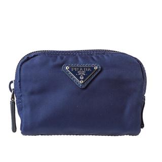 Prada 'Vela' Royal Blue Cosmetic Pouch