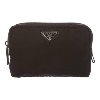 Prada 'Vela' Black Cosmetic Pouch