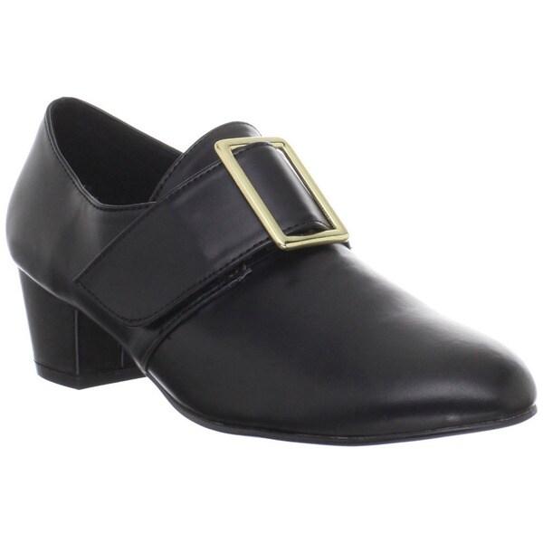 Funtasma Women's 'Pilgrim-14' Black Almond Toe Loafers