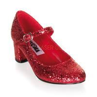 Funtasma 'SCHOOLGIRL-50G' Women's Plain Mary Jane Shoes