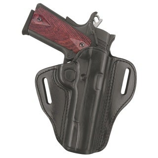 Gould & Goodrich Black Open Top Two Slot Holster