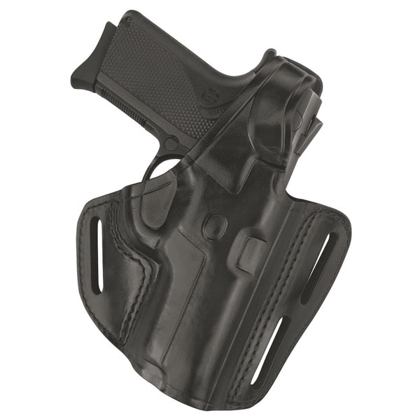Gould & Goodrich Black Three Slot Pancake Holster B803-G17