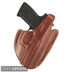 Gould & Goodrich Brown 3-slot Pancake Holster