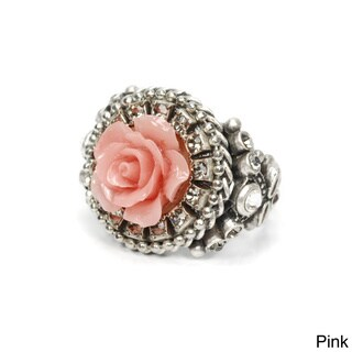 Sweet Romance Carved Rose Ring (2 options available)