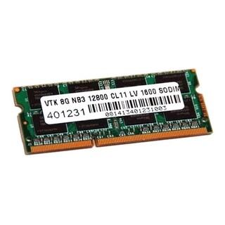 VisionTek 1 x 8GB PC3-12800 DDR3 1600MHz 204-pin SODIMM Memory Module