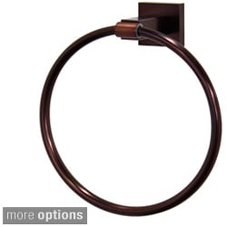 VIGO Allure Square Design Hand Towel Ring