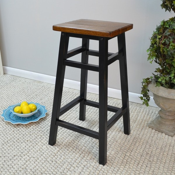 Antique Black Sonoma Counter Bar Stool