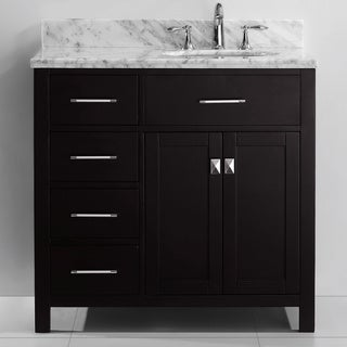 Virtu USA Caroline Parkway 36-inch Single-sink Bathroom Vanity Set