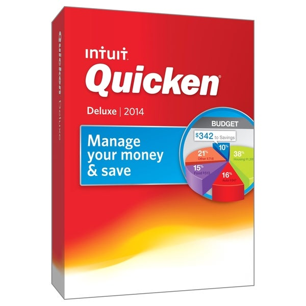 Intuit Quicken 2014 Deluxe - Complete Product - 1 User - Standard
