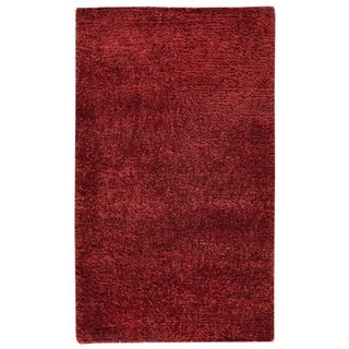 M.A.Trading Hand-woven Malibu Red Wool/ Polyester Rug (5' x 8')