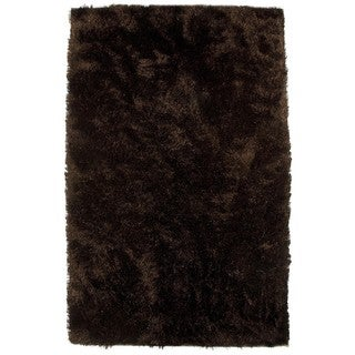 M.A.Trading Hand-woven Sunshine Brown Polyester Rug (5' x 8') (India)