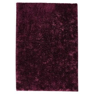 M.A.Trading Hand-woven Sunshine Purple Polyester Rug (5' x 8')