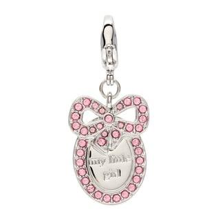 Swarovski Baby Girl Medal Charm