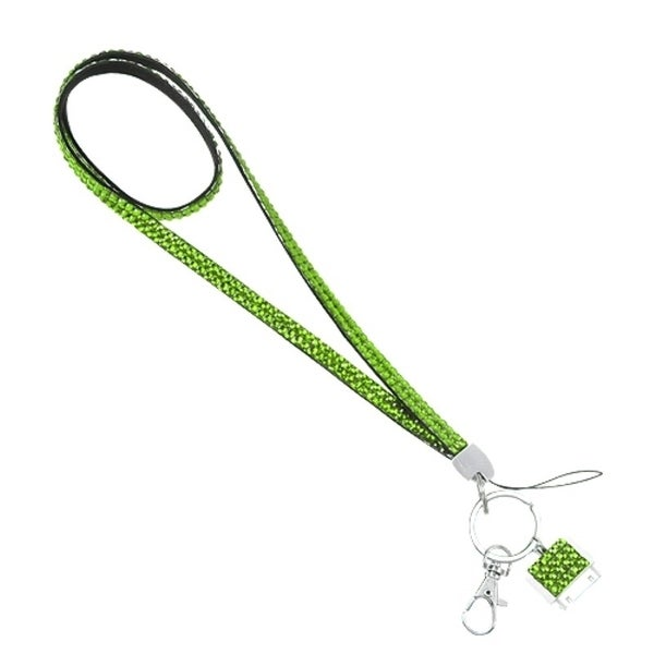 INSTEN Diamante Neck Lanyard for Apple iPhone 1/ 3G/ 3GS/ 4/ 4S