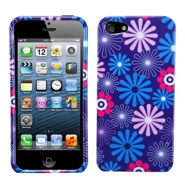 INSTEN Flower/ Fireworks Phone Case Cover for Apple iPhone 5 / 5S / SE