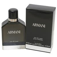 Giorgio Armani Eau de Nuit Men's 3.4-ounce Eau de Toilette Spray
