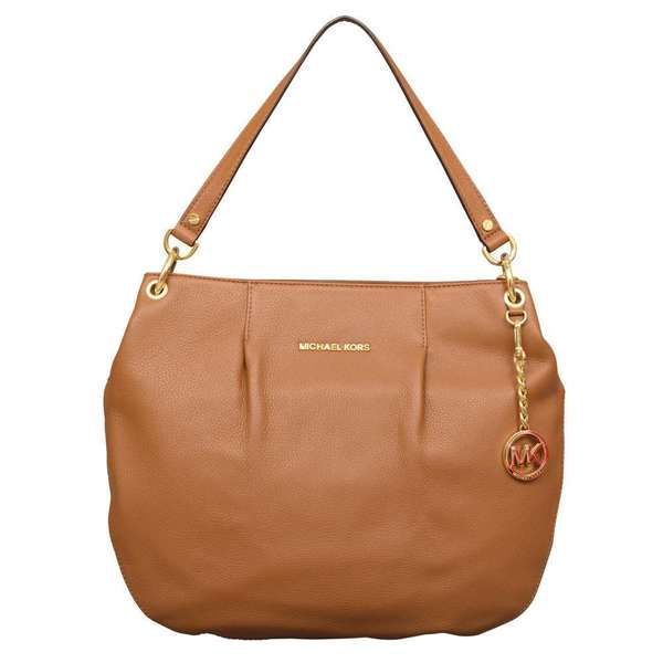 82ac982078ab Shop Michael Kors 'Bedford' Large Luggage Brown Leather Convertible  Shoulder Bag - Free Shipping Today - Overstock - 8310382