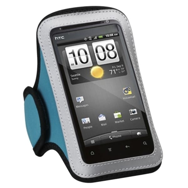 INSTEN Universal Baby Blue Sport Armband 214 for Cell Phones