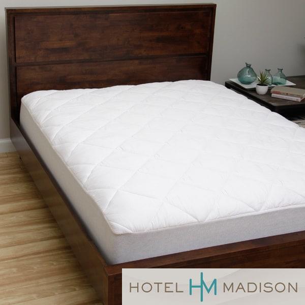 Hotel Madison 300 Thread Count Highloft Mattress Pad