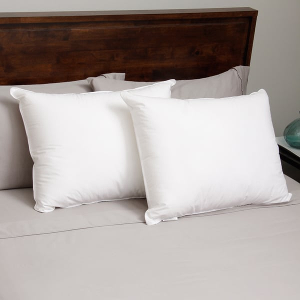 Hotel Madison 230 Thread Count Three Chamber Down Alternative Pillow (Set of 2)