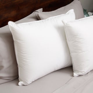 Hotel Madison 230 Thread Count Pillow in a Pillow Density Down Alternative Pillow (Set of 2) (2 options available)