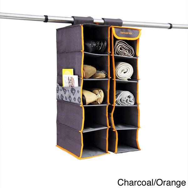 Samsonite 10-tier Closet Shelf Organizer