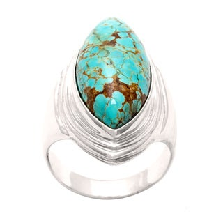 Silvermoon Sterling Silver Turquoise Ring