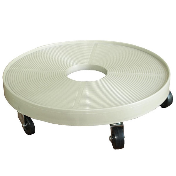 16 Inch Plant Dolly Grey Mist Free Shipping Today 8310859