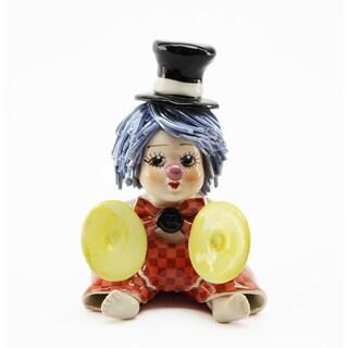 Authentic Italian Zampiva Cymbal Clown
