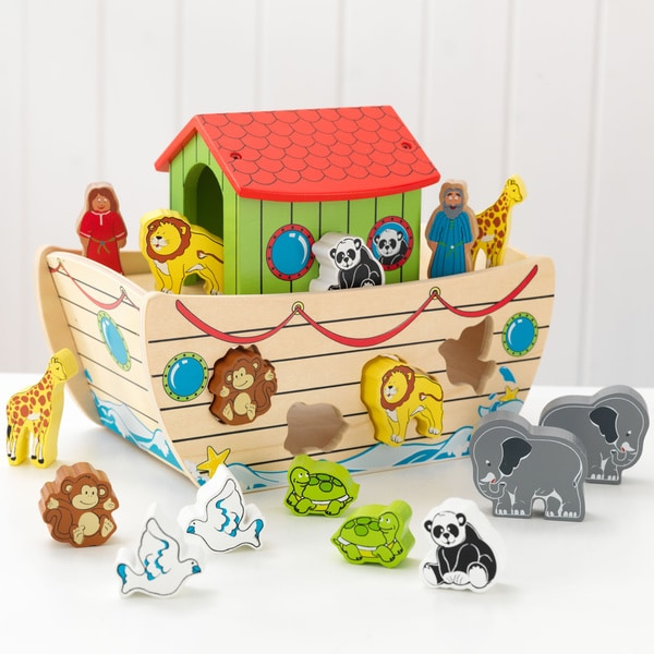 Shop Kidkraft Noah S Ark Shape Sorter Free Shipping On